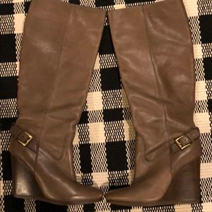 Coach Wedge Knee High Boot